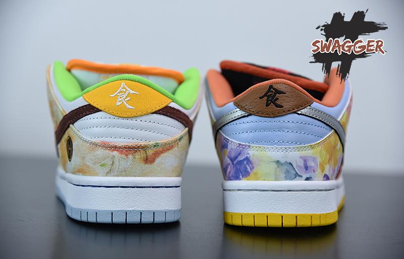 Giày Nike SB Dunk Low Street Hawker Pk God Factory
