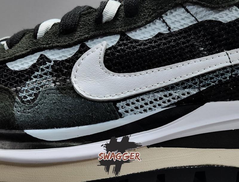 Nike Sacai Vaporwaffle black white pk god factory sử dụng chất liệu chính hãng chuẩn 99%, full box và phụ kiện