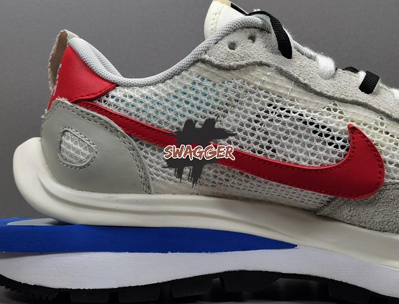 Giày Nike Sacai Vaporwaffle Sport Fuchsia Game Royal Pk God Factory sử dụng chất liệu chính hãng chuẩn 99%
