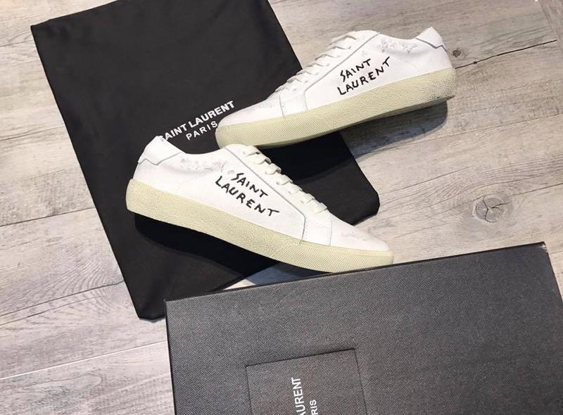 Giày Saint Laurent Court Classic Sneaker Chính Hãng Giá Bao Nhiêu