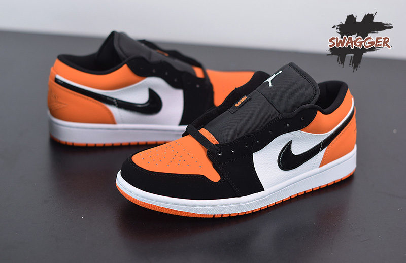 Giày Nike Air Jordan 1 Low Shattered Backboard Pk God Factory sử dựng chất liệu chính hãng chuẩn 99% full box và phụ kiện