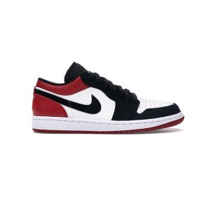 Giày Nike Air Jordan 1 Low Black Toe Pk God Factory