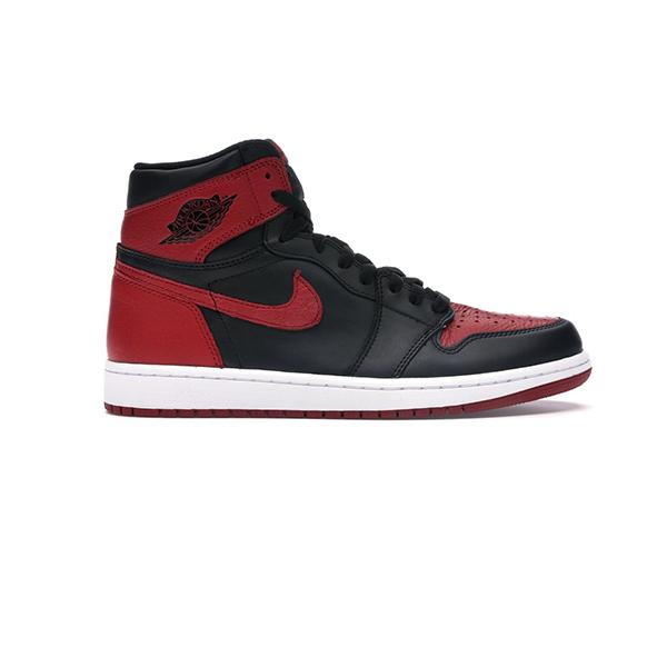 Giày Nike Jordan 1 Retro Bred Banned 2016 Pk God Factory