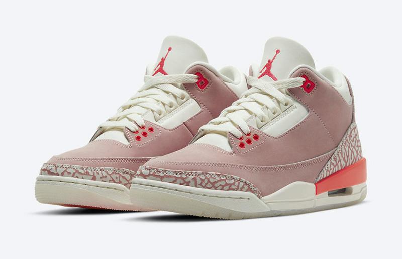 Giày Nike Jordan 3 Rust Pink Chính Hãng Giá Bao Nhiêu