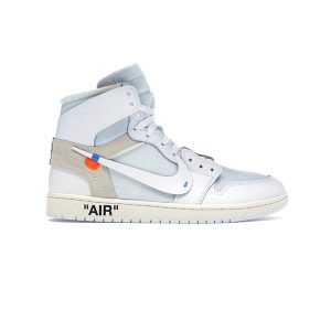 Giày Nike Air Jordan 1 Off White White Pk God Factory