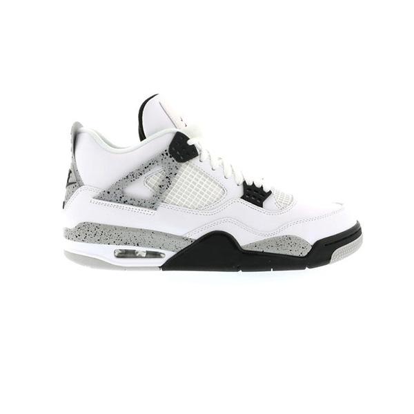 Giày Nike Air Jordan 4 Retro White Cement Pk God Factory