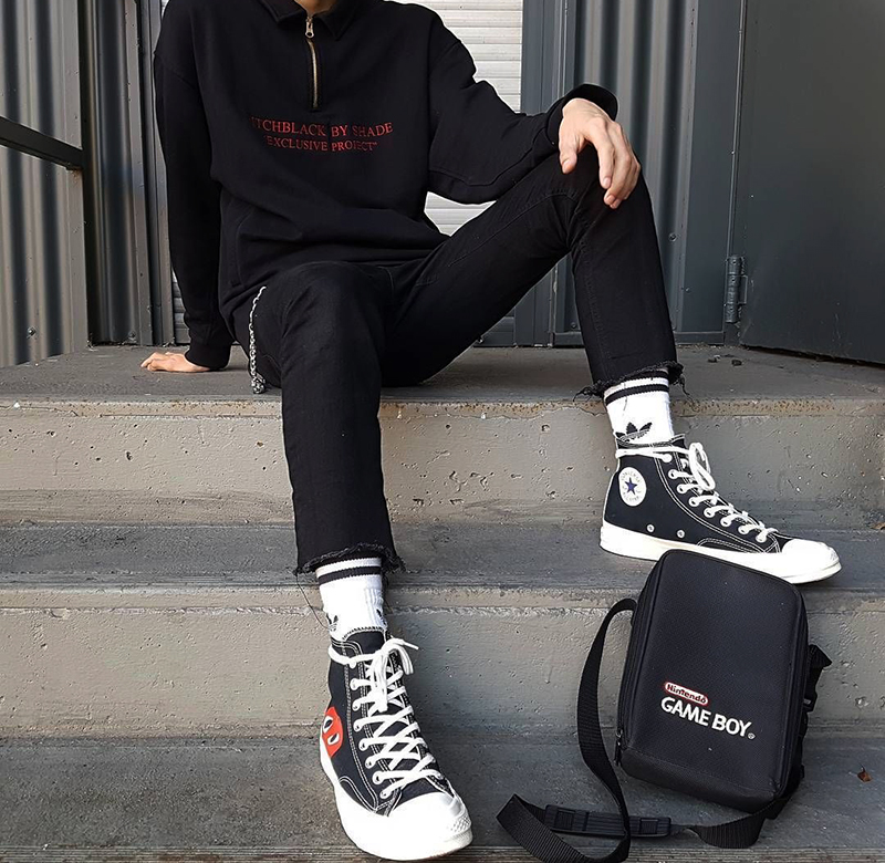 Cách phối đồ với giày Converse sành điệu nhất