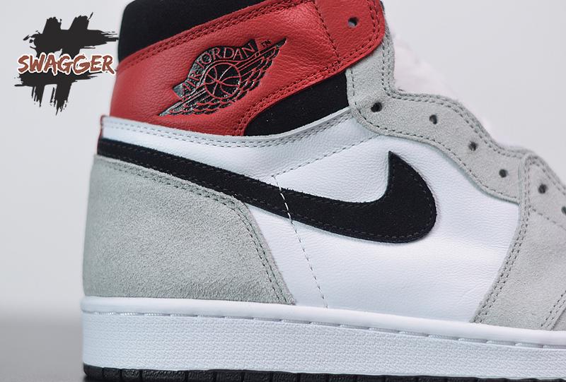 Giày Nike Air Jordan 1 High Smoke Grey Pk God Factory