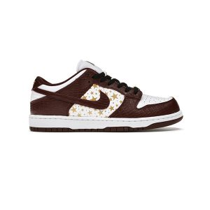 Giày Nike Sb Dunk Supreme Stars Barkroot Brown Pk God Factory