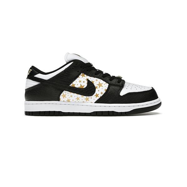 Giày Nike Sb Dunk Supreme Stars Black Pk God Factory