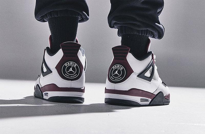 Kám Phá Đôi Giày Nike Jordan 4 PSG Paris Saint Germain