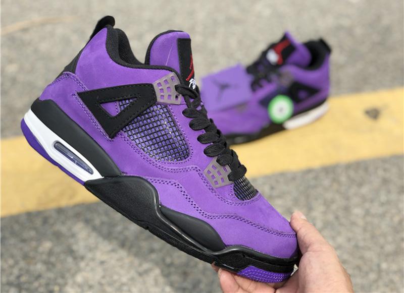 Giày Nike Air Jordan 4 Travis Scott Purple Đôi Giày Có Mức Giá 1 Tỷ Đồng