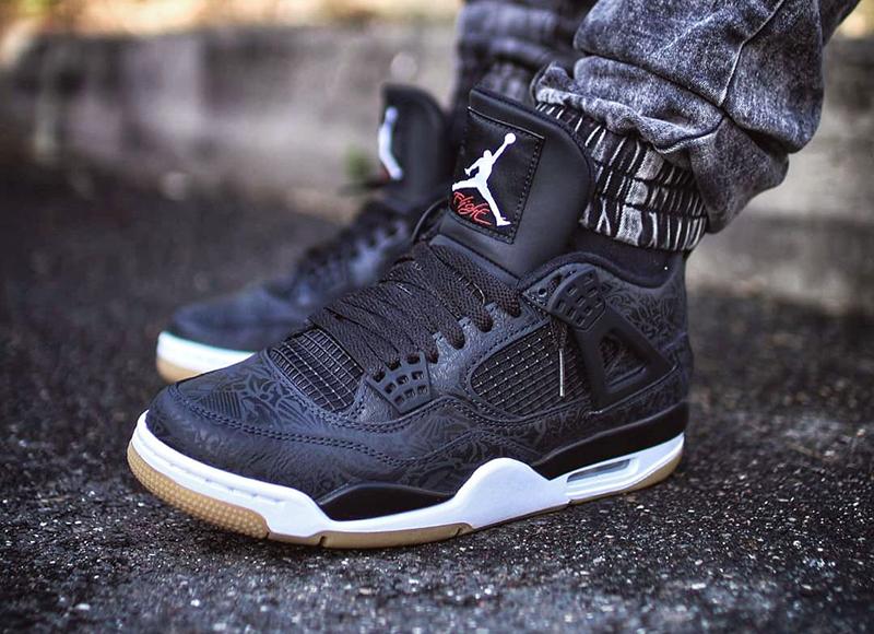 Tổng Hợp Các Mẫu Giày Nike Jordan 4 laser Đình Đám