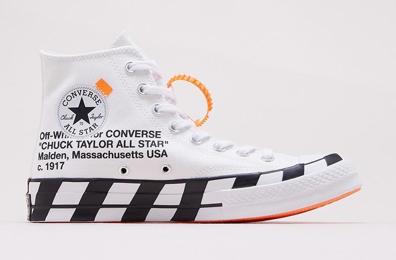Thông Tin Phát Hành Lại Đôi Off White X Converse Chuck 1970s 2.0