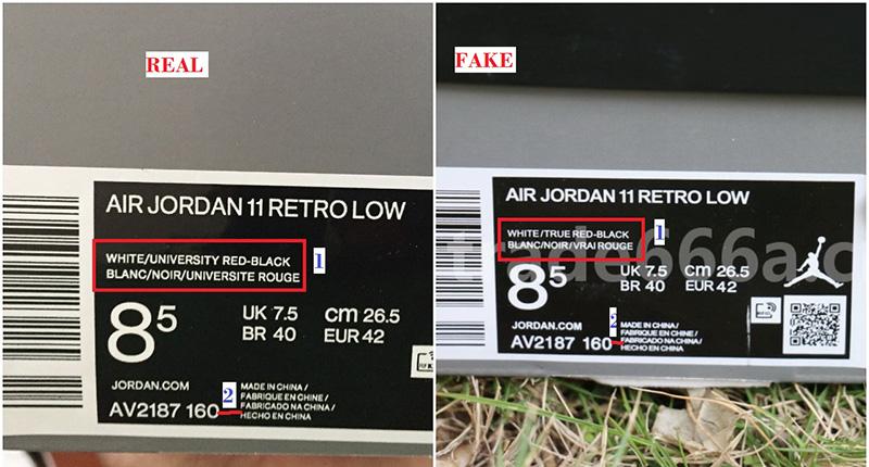 Làm Sao Để Biết Đôi Nike Air Jordan 11 Low Concord Của Bạn Là Thật Hay Giả?