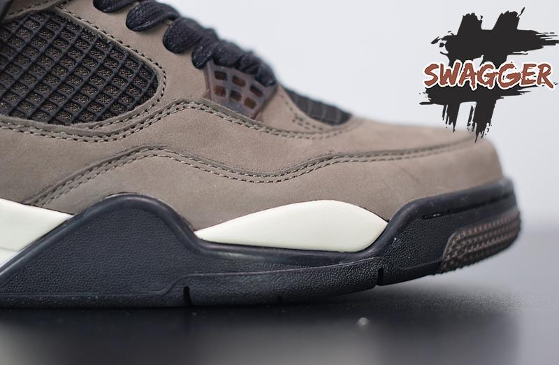 Giày Nike Air Jordan 4 Travis Scott Sample Olive Pk God Factory