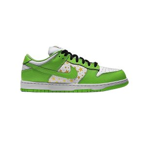 Giày Nike Sb Dunk Supreme Stars Mean Green 2021 Pk God Factory