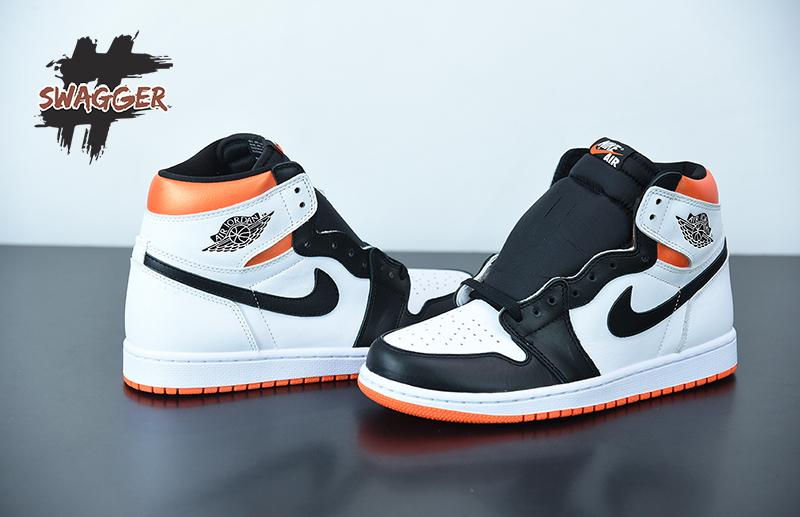 Giày Nike Air Jordan 1 Electro Orange Pk God Factory