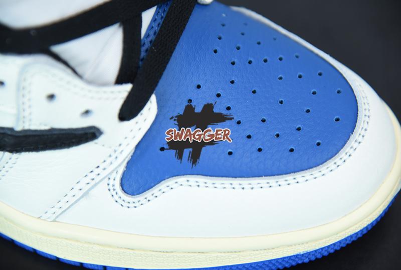 Giày Nike Air Jordan 1 Travis Scott Fragment Pk God Factory