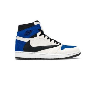 Giày Nike Air Jordan 1 Travis Scott Fragment Pk God Factory