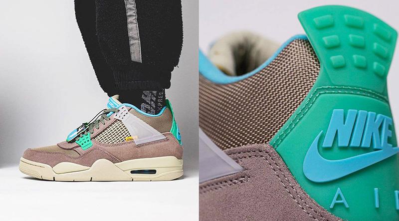 Giày Nike Air Jordan 4 Union 30th Anniversary Gray Pk God Factory