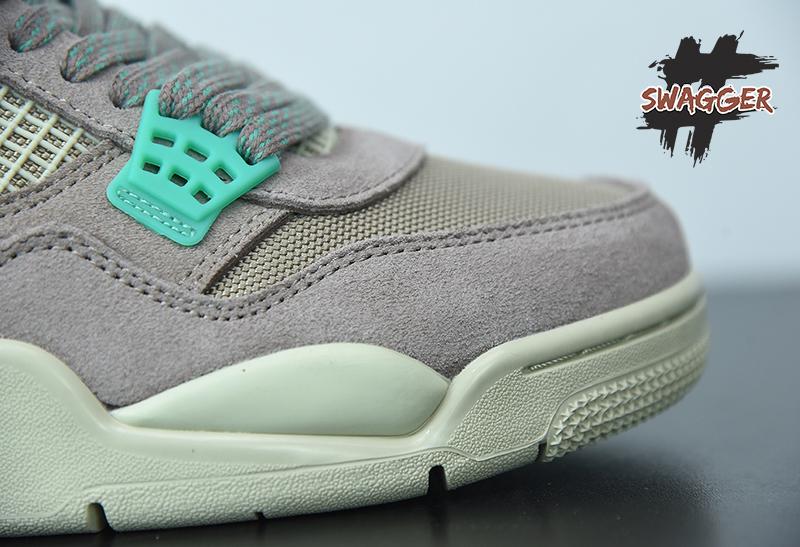 Giày Nike Air Jordan 4 Union 30th Anniversary Gray Pk God Factory sử dụng chất liệu chính hãng, chuẩn 99% cam kết chất lượng best quality