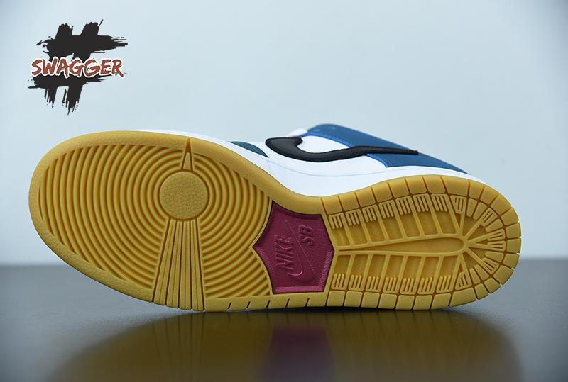 Giày Nike Sb Dunk Low Parra 2021 Pk God Factory sử dụng chất liệu chính hãng chuẩn 99% cam kết chất lượng tốt nhất