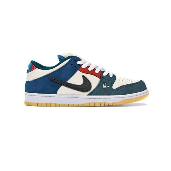 Giày Nike Sb Dunk Low Parra 2021 Pk God Factory