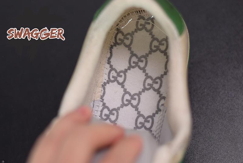 Giày Gucci Screener Leather Sneaker Blue Like Authentic sử dụng chất liệu chính hãng chuẩn 99%