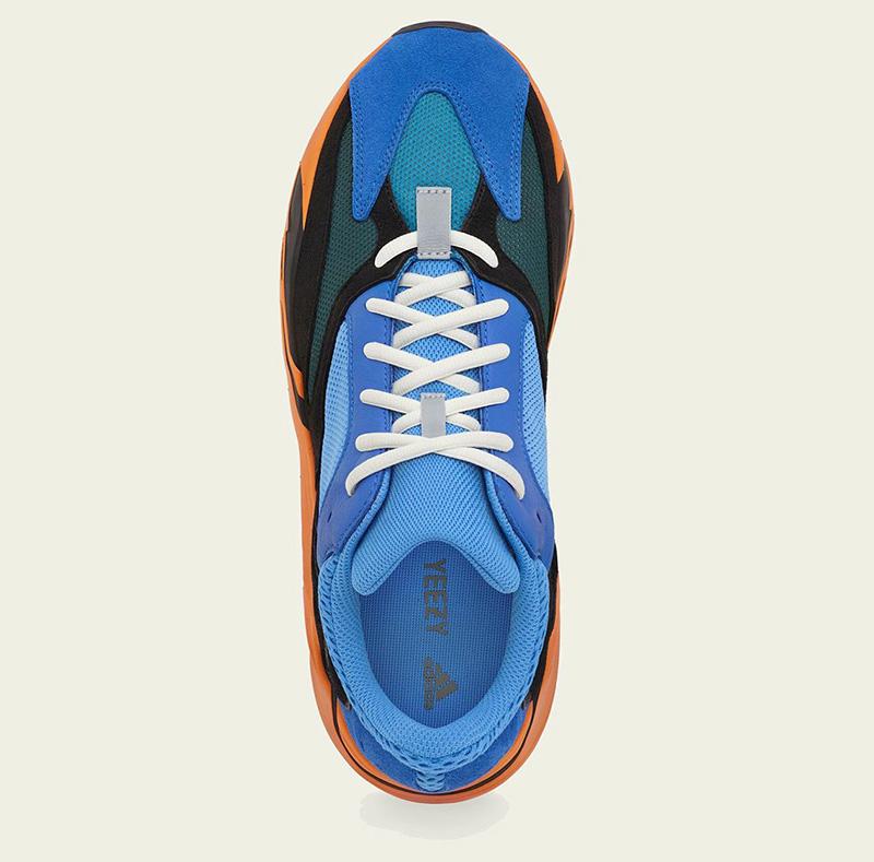 Giày Adidas Yeezy 700 Bright Blue Pk God Factory