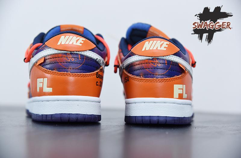 Giày Nike Dunk Low Off White Futura Pk God Factory