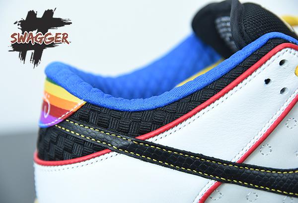 Giày Nike Sb Dunk Low What The Paul Pk God Factory sử dụng chất liệu chính hãng chuẩn 99%
