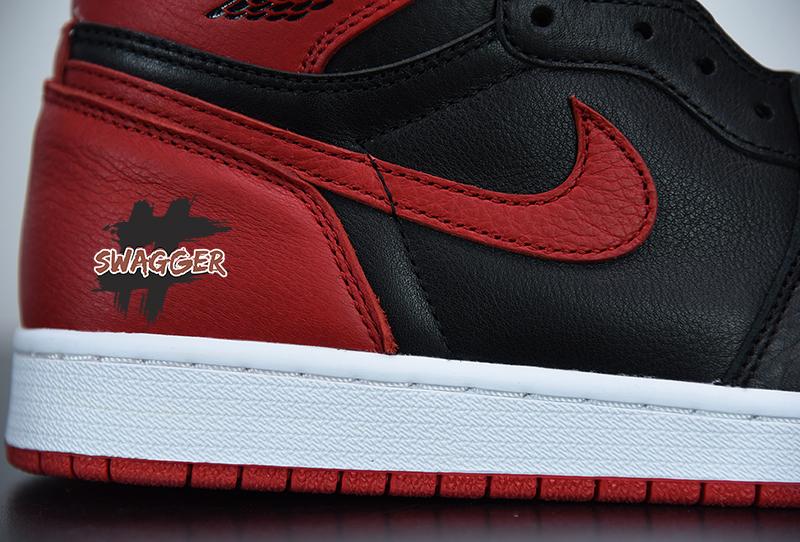 Giày Nike Air Jordan 1 Homage To Home Pk God Factory sử dụng chất liệu chính hãng chuẩn 99%