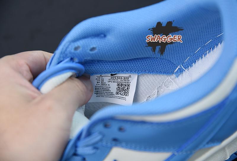 Giày Nike Dunk Low Coast Pk God Factory sử dụng chất liệu chính hãng chuẩn 99%