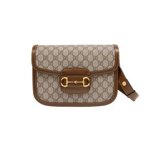 Túi Gucci Horsebit 1955 Shoulder Bag Brown Like Authentic