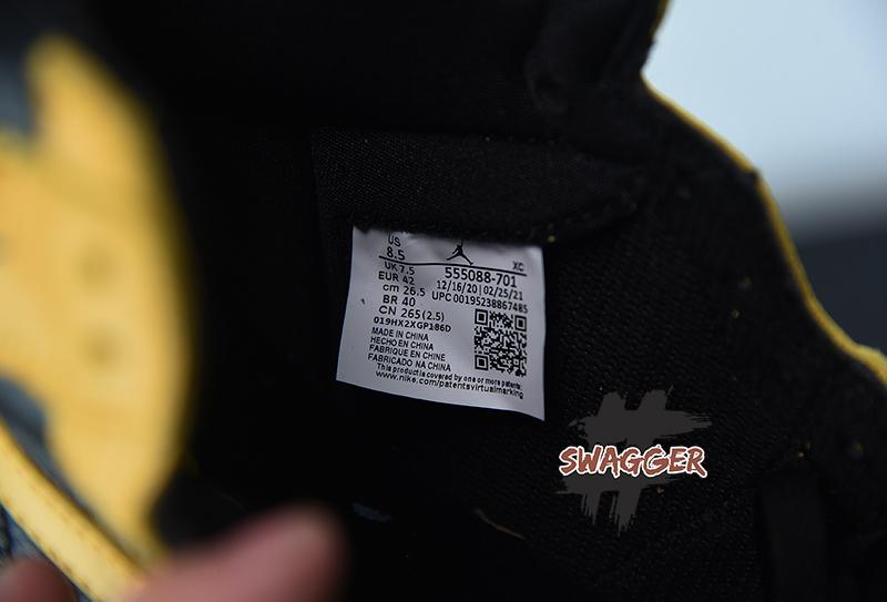 Giày Nike Air Jordan 1 Retro High Pollen Pk God factory