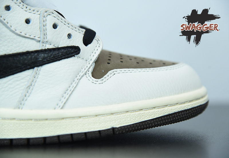 Nike air jordan 1 travis scott Reverse Pk God Factory sử dụng chất liệu chính hãng chuẩn 99%