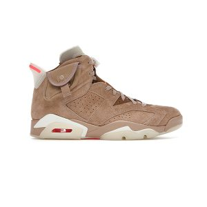 Giày Nike Air Jordan 6 Travis Scott British Khaki Pk God Factory