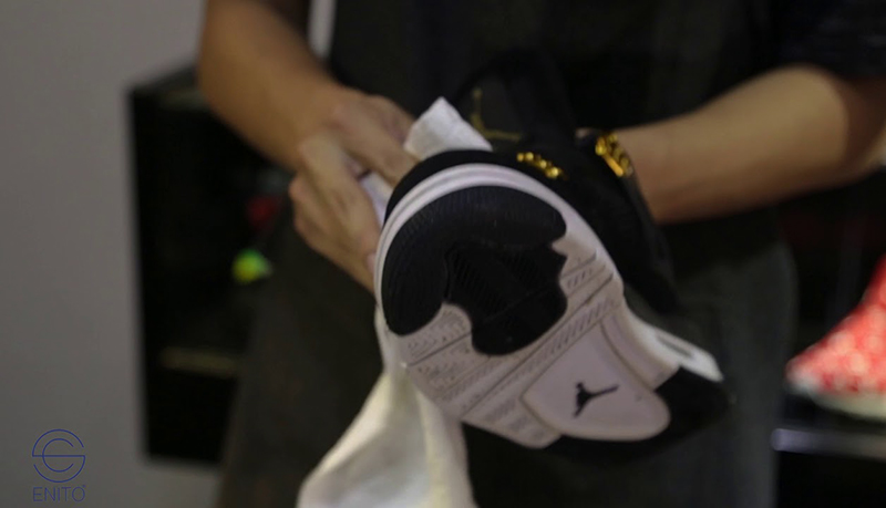 Hướng Dẫn Cách Vệ Sinh Giày Jordan 1 Tại Nhà Đúng Cách