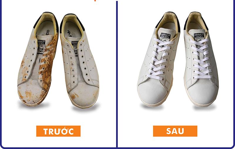 Cách Vệ Sinh Giày Stan Smith Trắng Hiệu Quả Củng Như Tẩy Ố Vàng