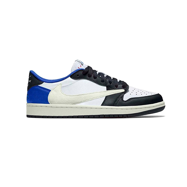 Giày Nike Air Jordan 1Travis Scott Fragment Low Pk God Factory