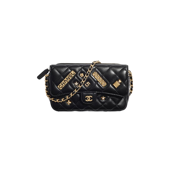 Túi Xách Chanel Classic Flap Phone Holder With Chain like authentic