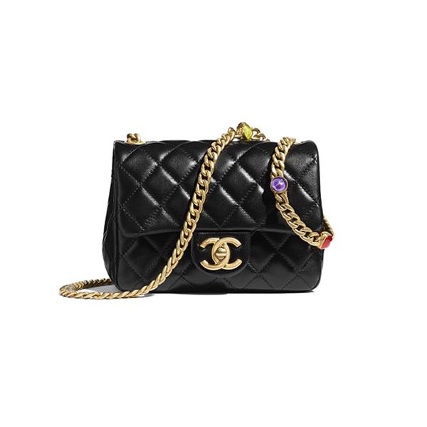 Túi Xách Chanel Flap Bag Black 2021 Like Authentic