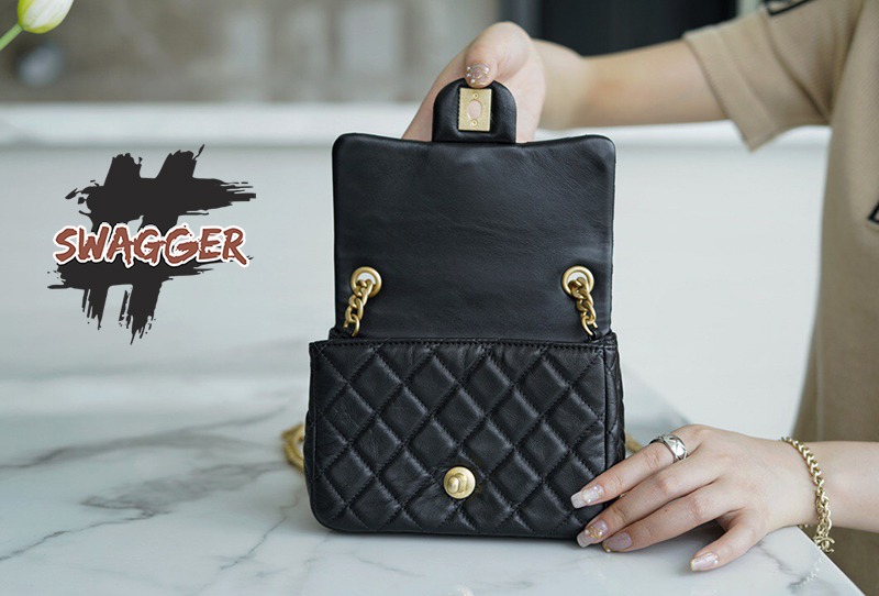 Túi Xách Chanel Flap Bag Black 2021 Like Authentic sử dụng chất liệu da cừu như chính hãng, sản xuất thủ công hoàn toàn, chuẩn 99% cam kết chất lượng tốt nhất