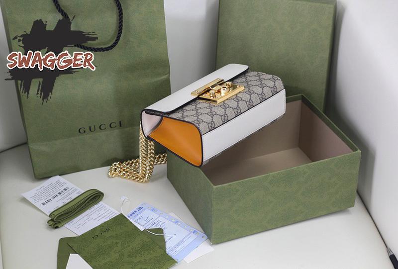Gucci Padlock Small GG supreme canvas like authentic sử dụng chất liệu nguyên bản như chính hãng, sản xuất hoàn toàn bằng thủ công, full box và phụ kiện