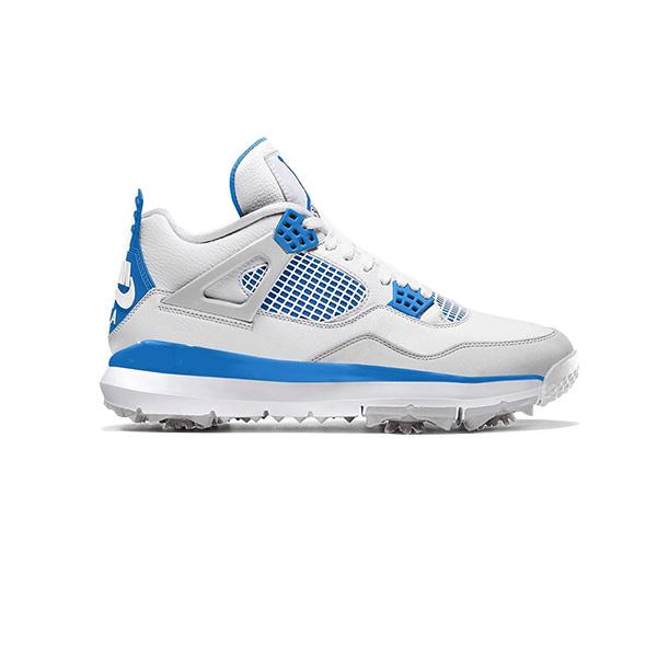 Giày Nike Air Jordan 4 Golf Military Blue 2021 CU9981-101
