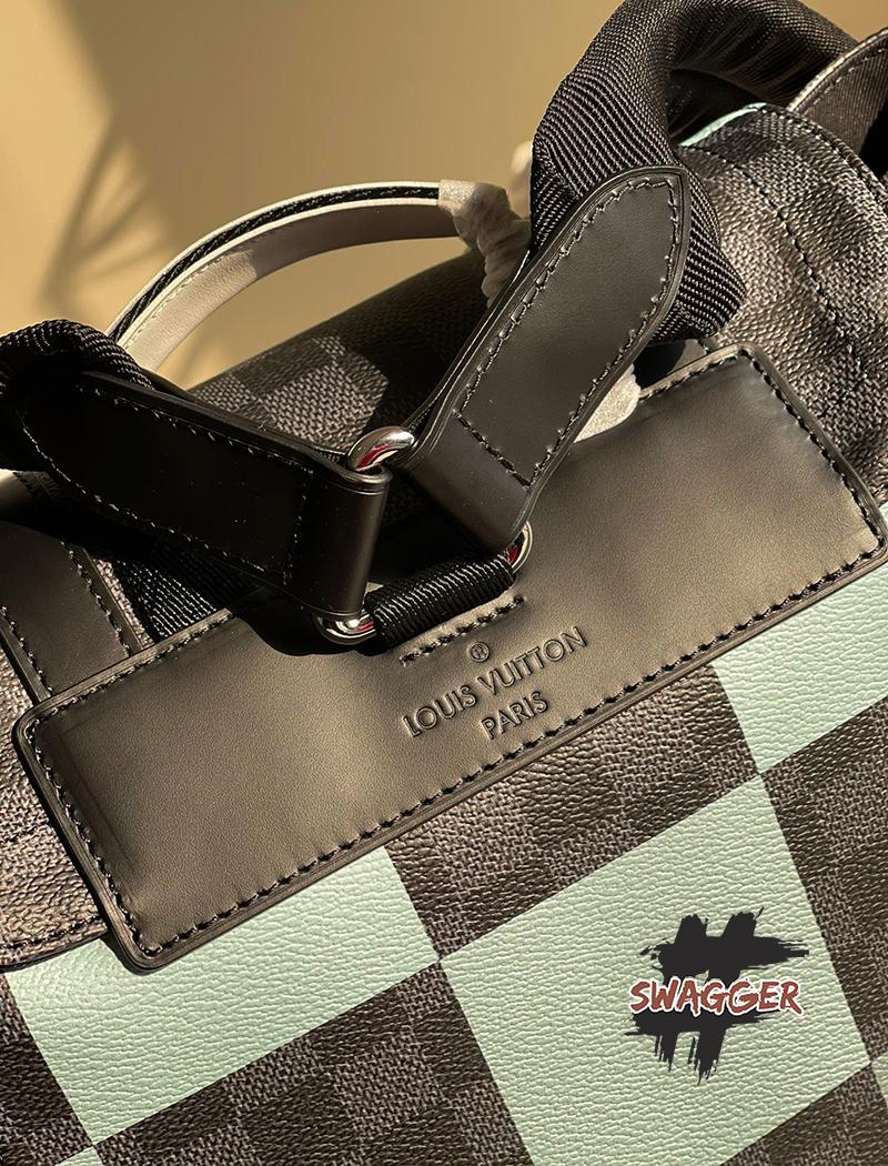 Balo Louis Vuitton Christopher PM Damier Graphite Canvas Like Authentic sử dụng chất liệu da nguyên bản như chính hãng, sản xuất hoàn toàn bằng thủ công chất lượng tốt nhất