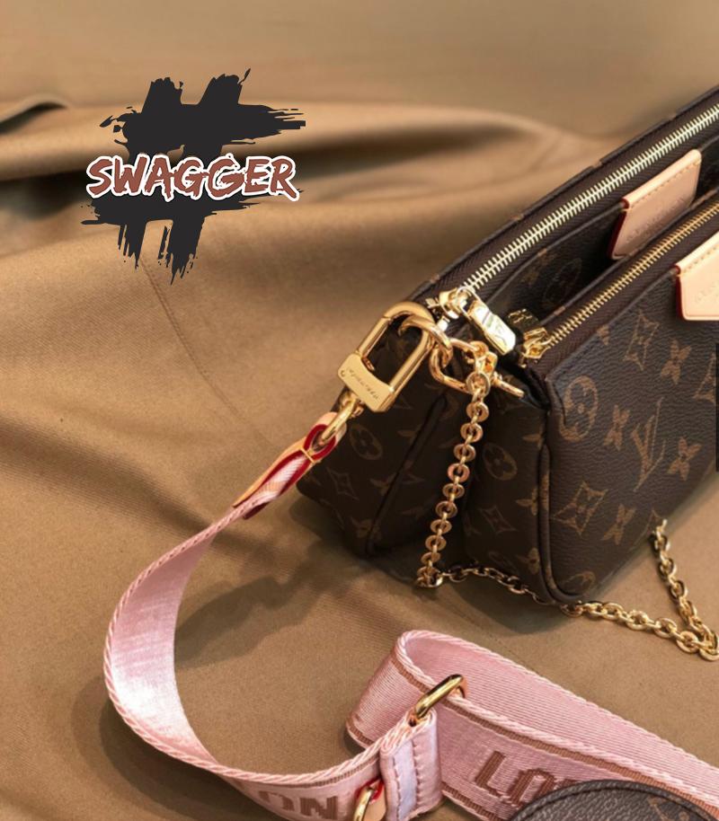 Túi Xách Louis Vuitton Multi Pochette Accessoires Pink Like Authentic sử dụng chất liệu nguyên bản chính hãng, chuẩn 99% sản xuất hoàn toàn bằng thủ công. chuẩn 99% cam kết chất lườn tốt nhấ