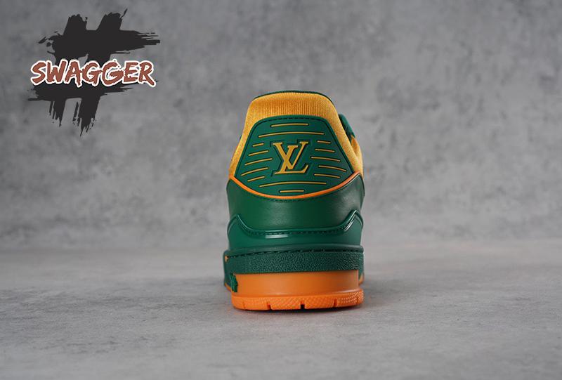 Giày Louis Vuitton Trainer Vert Like Authentic sử dụng chất liệu chính hãng, chuẩn 99% so với chính hãng, full box và phụ kiện, cam kết chất lượng tốt nhất