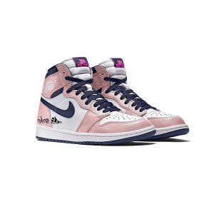 Giày Nike Air Jordan 1 Atmosphere Pink DD9335-641